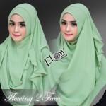 Flowing-hijau