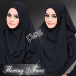 Flowing-hitam