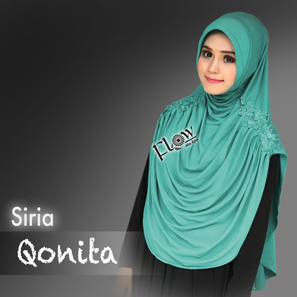 siria-qonita-hijau-tosca