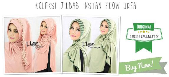 koleksi jilbab instan Flow Idea